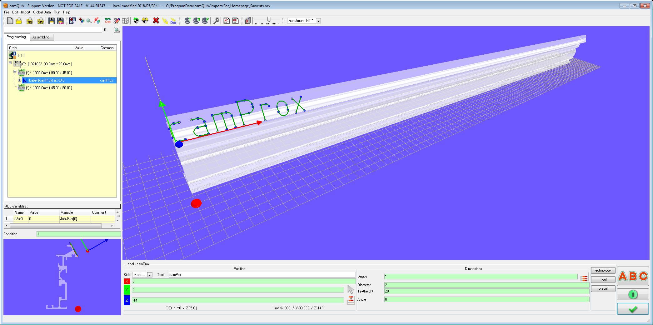 camQuix - camProx | the cam Software by camProx