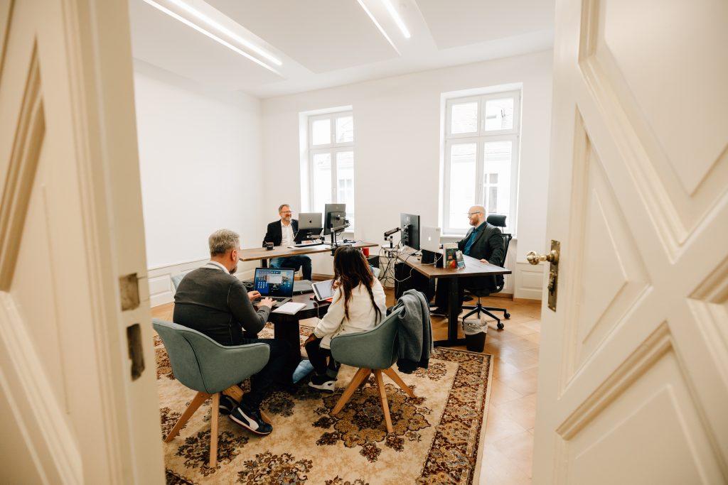 Team im Büro